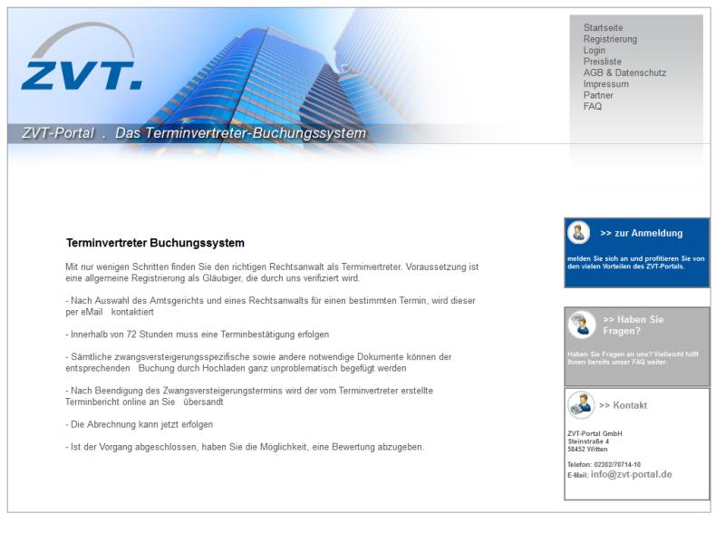 ZVT-Portal GmbH, Siegburg